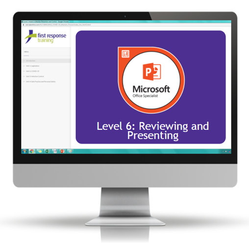 PowerPoint 2019 - Level 6 Reviewing and Presenting