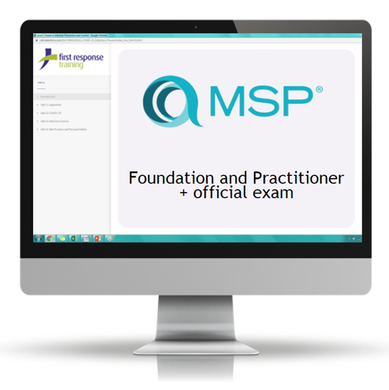 MSP® Project Management - Foundation and Practitioner + official exam