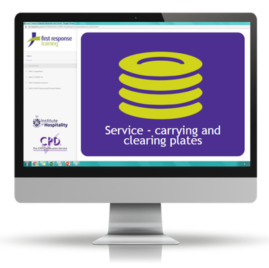 Service - carrying & clearing plates