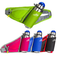 Women Water Bottle Belt Bag Chest Backpack