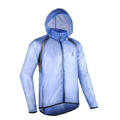 ARSUXED Cycling Raincoat Bicycle Jersey Mountain Bike Running Clothes Full Sleeve Jacket Windproof Waterproof Sports Raincoat