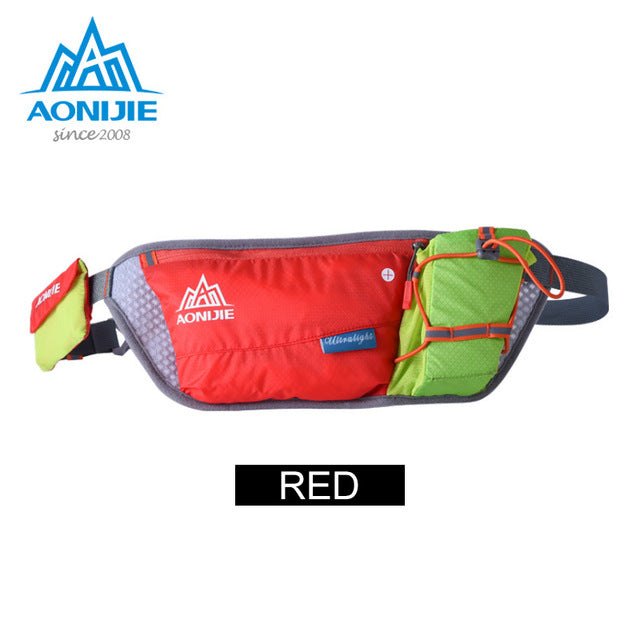 Running Waist Pack Lightweight Water Bottle Hip Bag