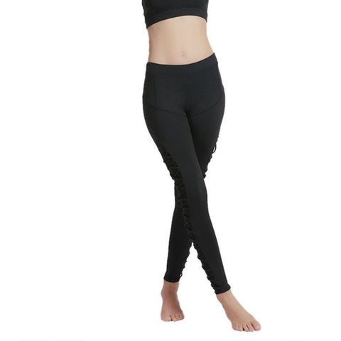Women Yoga Leggings Middle Waist Yoga Pant