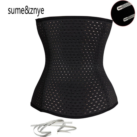 New 2018 Women postpartum girdle Body Tummy slimmer Waist Trainer latex corset Waist Cincher sexy underbust corsets and bustiers