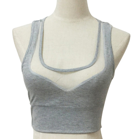 Women's V-Neck Hot Tank Top Sexy Sports Vest