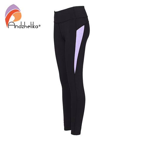 Andzhelika Yoga Legging Women New Running Pants