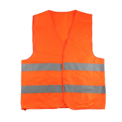 Plus Size XXL-XXXL Reflective Vest Working Clothes Provides High Visibility Day Night For Running Cycling Warning Safety vest