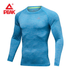 PEAK SPORT Long Sleeve Men's  Gym Clothing Sportswear