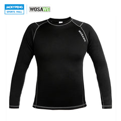WOSAWE Men Thermal Fleece Long Sleeve T-Shirts