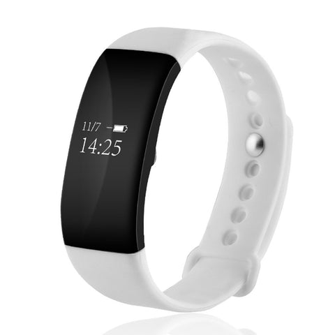 V66 Bluetooth Waterproof Heart Rate Smart Bracelet Watch Message Call Reminder