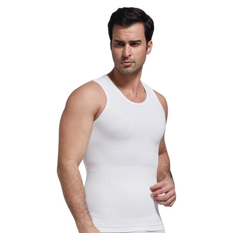 Men tank top shapers tummy control shape wear Slimming Underwear Men Shaper Vest Body Slimming Shapewear Belly Waist Cincher