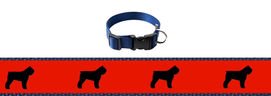 Gells Bouvier Collar and Lead (version 2)