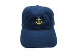 Organic Cotton Brushed Twill, Anchor's Away