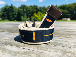 SURFS UP- All American Ribbon Belt