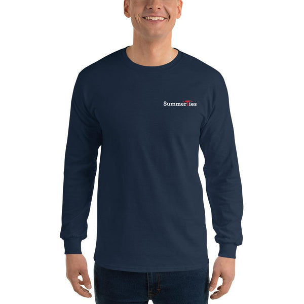 Newport 4th of July Long Sleeve T-Shirt - Navy