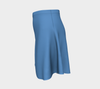 Solid Flare Skirt - Blue