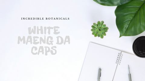 White Maeng Da Capsules - IncredibleBotanicals-Kratom