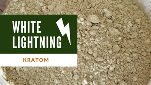 White lightning Premium Kratom Blend - IncredibleBotanicals-Kratom