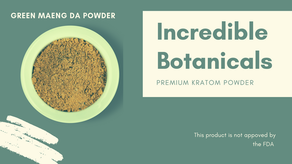 New customer Kratom Sample Pack - IncredibleBotanicals-Kratom