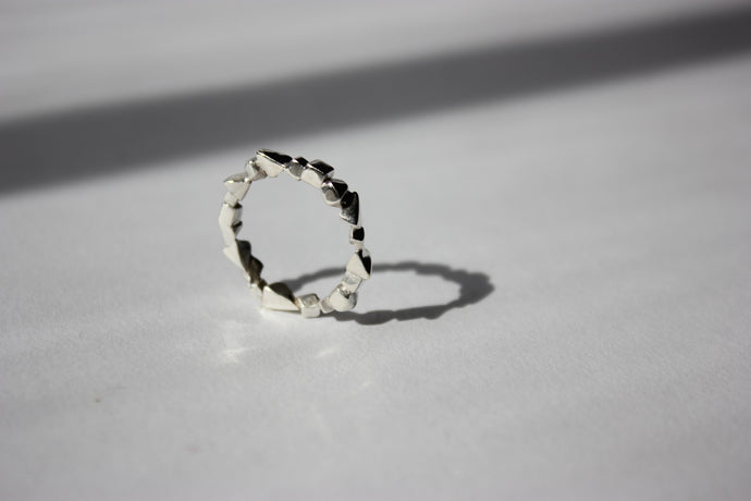 3D Shapes ring