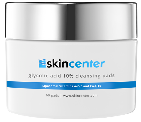 SkinCenter Glycolic Acid 10% Cleansing Pads