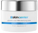 SkinCenter Glycolic Acid 15% Cleansing Pads