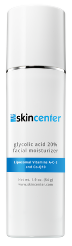 SkinCenter Glycolic Acid 20% Facial Moisturizer