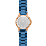 AS DE PIQUE Master Carbon Rosegold Blau Edelstahl 45mm