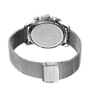 AS DE PIQUE Chrono Silber Milanaise 43mm