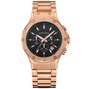 AS DE PIQUE Master rosegold 45mm