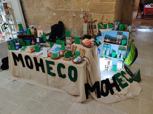 Moheco at its first ever Eco Christmas Market!