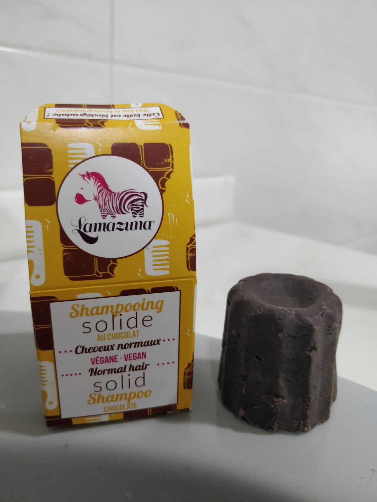 Shampoo bar - Normal hair - Chocolate