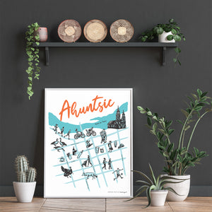 The Ahuntsic map is now available!