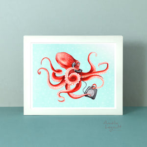 The octopus on the phone is now available!