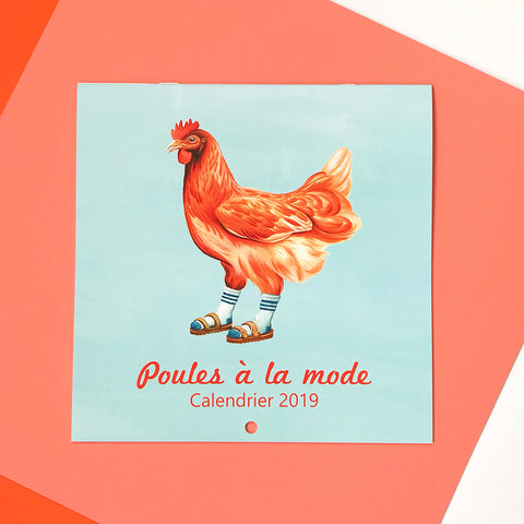 Do you have your fashionable chickens 2019 calendar?