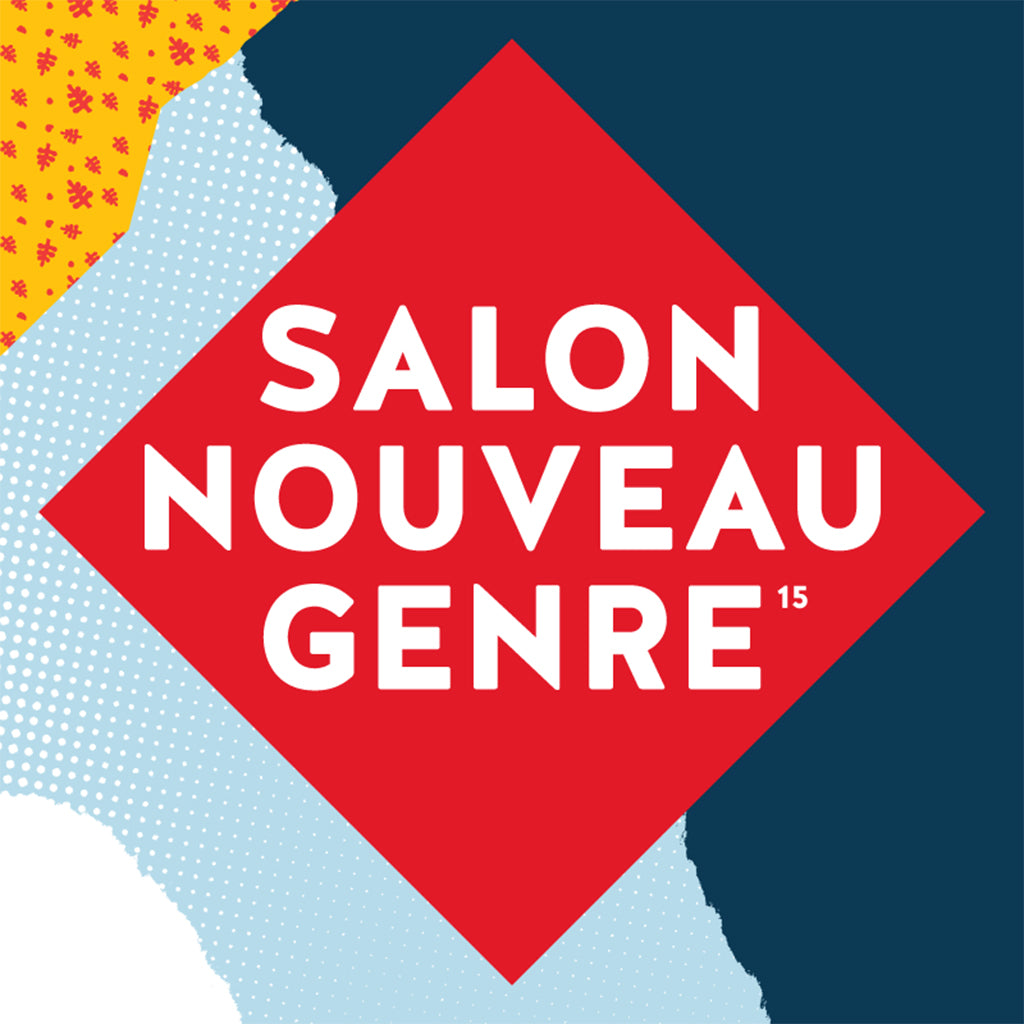 I will be at Salon Nouveau Genre in Quebec city!