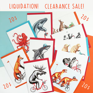 Clearance Sale! 10 cards for only 20$