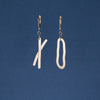 """Exes and Ohs II"" Earrings – Dangle"