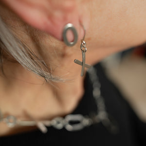 """Exes and Ohs I"" Earrings – Studs"