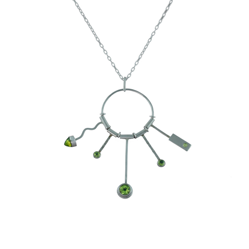"""Springtime"" Pendant Necklace"