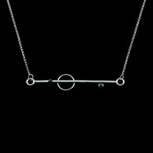 """Line Segments II"" Necklace"