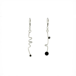 """Freeform I"" Earrings"