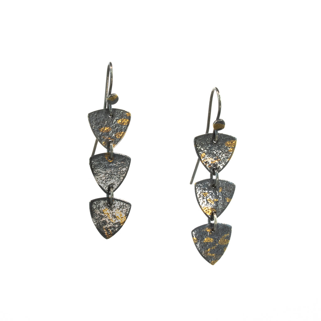 """Triangles"" Earrings"