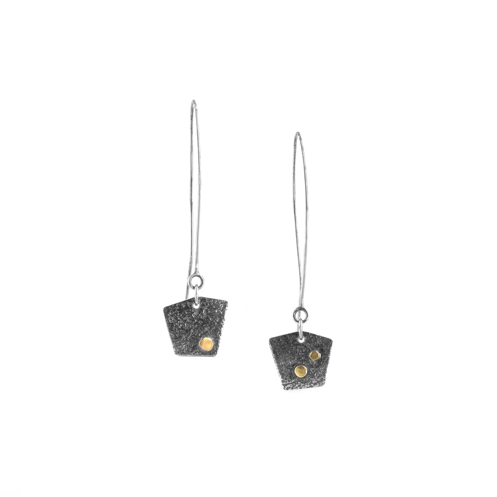 """Pentagons"" Earrings"