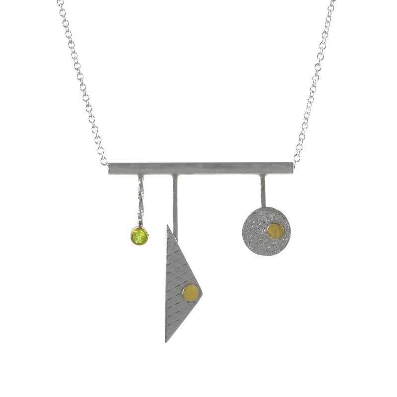 """Linear Statement"" Necklace"
