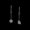 """Linear Statement"" Earrings"