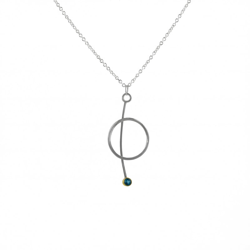 """Circle"" Pendant Necklace"
