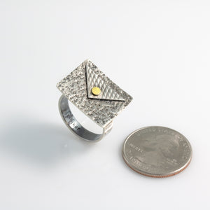"""Basic Geometry"" Statement Ring"