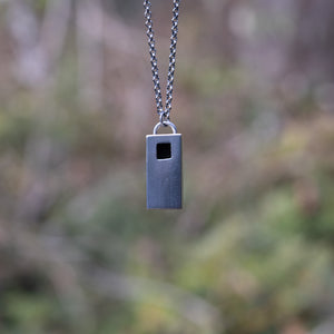 """Spirit House"" Pendant Necklace"
