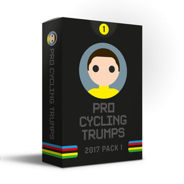 Pro Cycling Trumps 2017 Pack 1